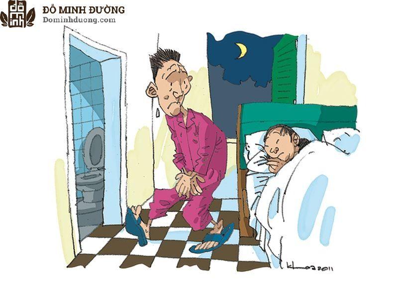 Đàn ông bị viêm tuyến tiền liệt thường có triệu chứng rối loạn tiểu tiện kèm theo sốt