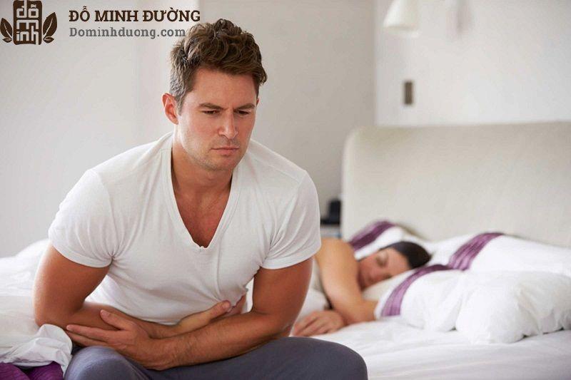 Theo các chuyên gia, nếu bị viêm tuyến tiền liệt nặng người bệnh không được quan hệ tình dục
