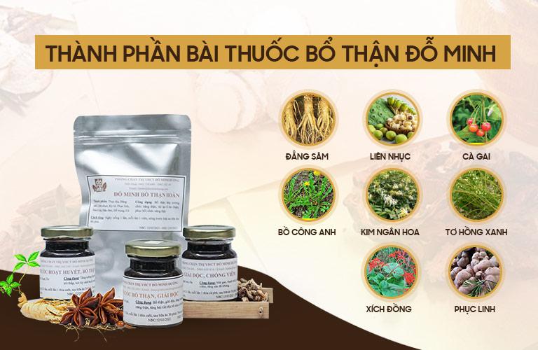 Những cây thuốc nam thuần Việt có mặt trong liệu trình Bổ thận Đỗ Minh chữa bệnh nang thận cho trẻ