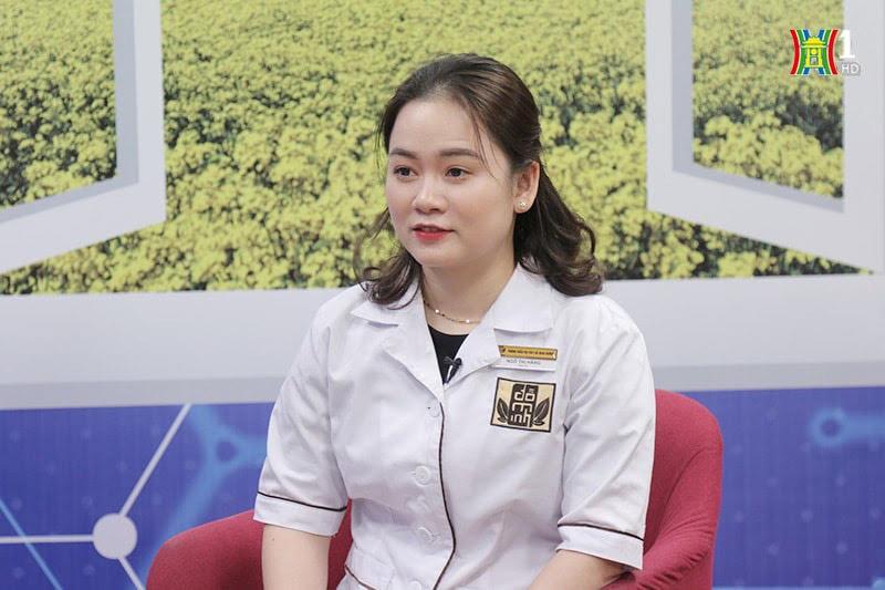 """BS Ngô Thị Hằng trong chương trình """"Vì sức khỏe của bạn"""""""