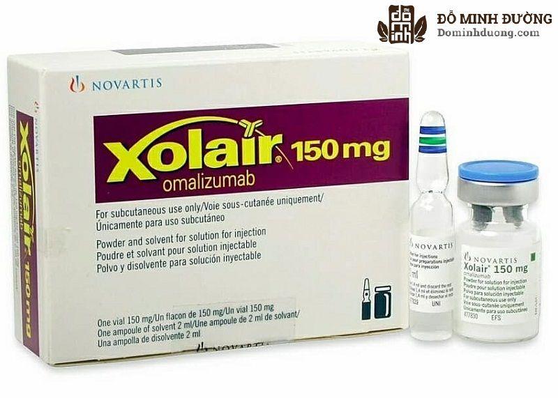 omalizumab là thuốc dùng cho những trường hợp bệnh mãn tính, khó điều trị