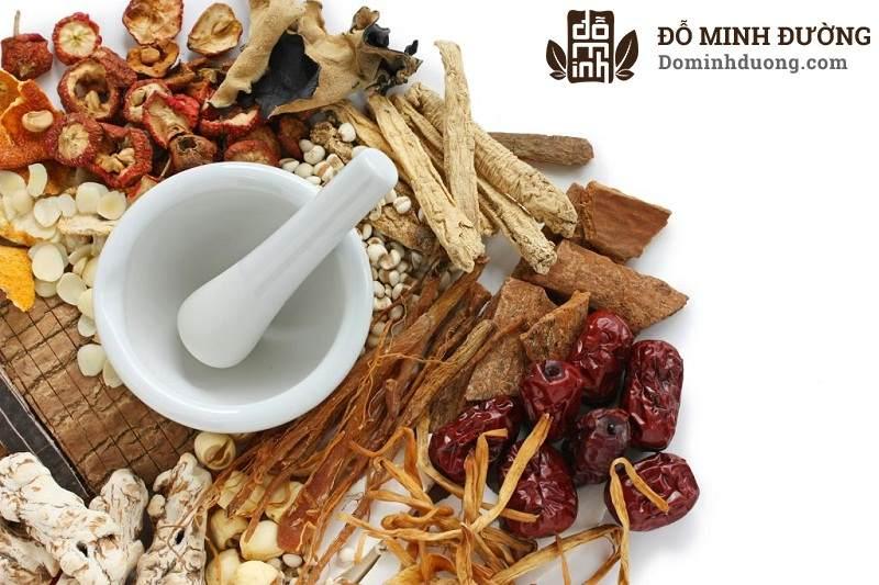 Thuốc Đông y có khả năng kháng viêm và thúc đẩy bài tiết chất độc, lưu thông khí huyết rất hiệu quả