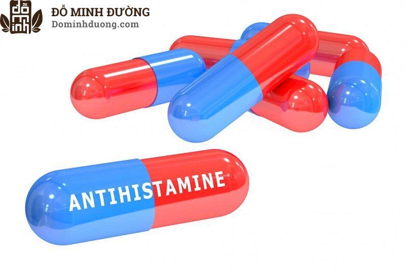 Thuốc kháng histamin thường được sử dụng để điều trị nổi mề đay