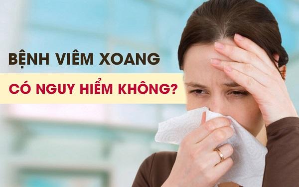 Nhận biết biến chứng bệnh viêm xoang và cách chữa