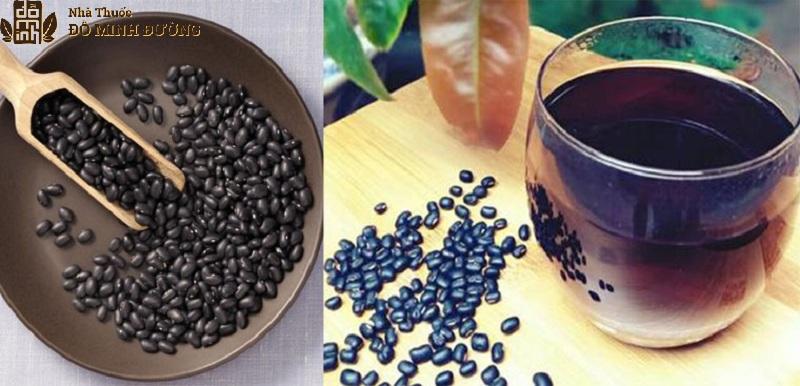 Nước đậu đen giải nhiệt cơ thể, cải thiện tình trạng liệt dương