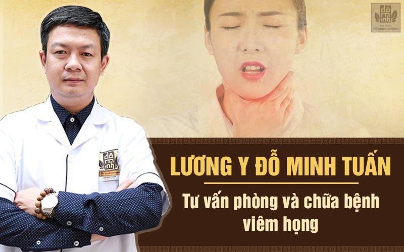 chữa viêm họng Đỗ Minh Đường