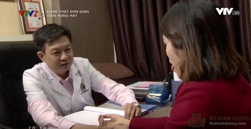 Bác sĩ Đỗ Minh Tuấn đồng hành cùng chương trình Khỏe thật đơn giản của VTV 2