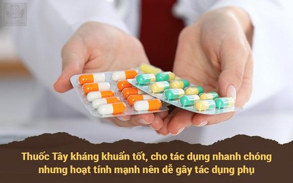 Thuốc tây chữa mề đay có thể gây tác dụng phụ