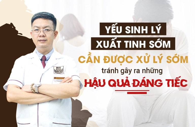 Nhận định của lương y Đỗ Minh Tuấn về yếu sinh lý, xuất tinh sớm