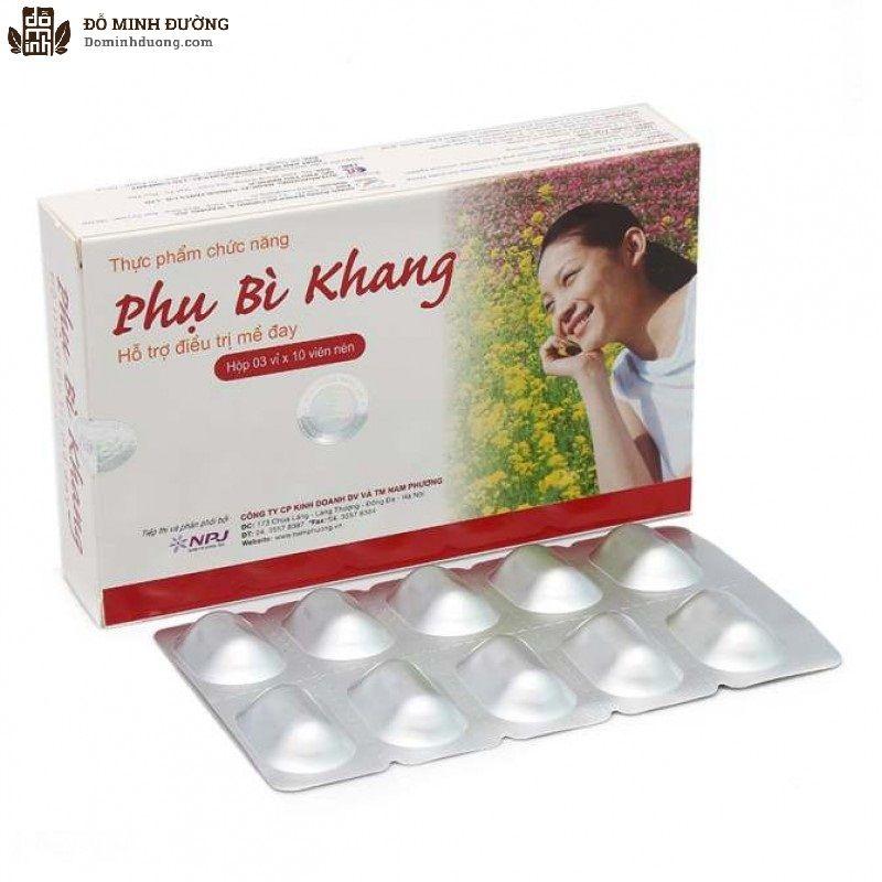Phụ Bì Khang là sản phẩm chức năng hỗ trợ chữa mề đay của Công ty CP SX & TM Hồng Bàng