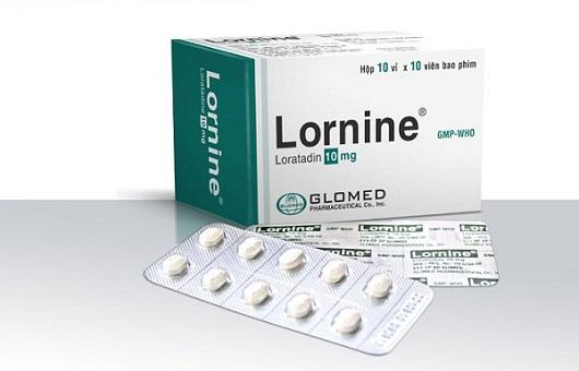 Thuốc Loratadin thường được sản xuất dạng viên nén hàm lượng 10mg