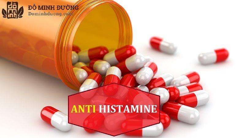 Thuốc kháng histamin là thuốc trị dị ứng da được dùng phổ biến nhất hiện nay