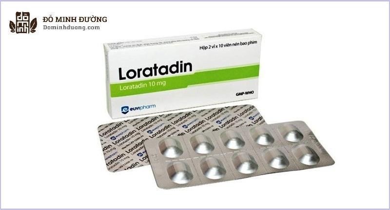 Thuốc Loratadin chữa bệnh gì? Thuốc trị mề đay, mẩn ngứa dị ứng do histamin