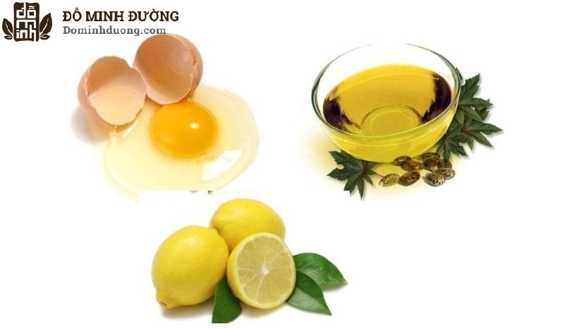 Trị dị ứng da mặt bằng lòng trắng trứng gà, dầu oliu và chanh được nhiều người áp dụng