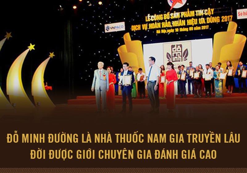 Nhà thuốc Đỗ Minh Đường đạt nhiều giải thưởng danh giá