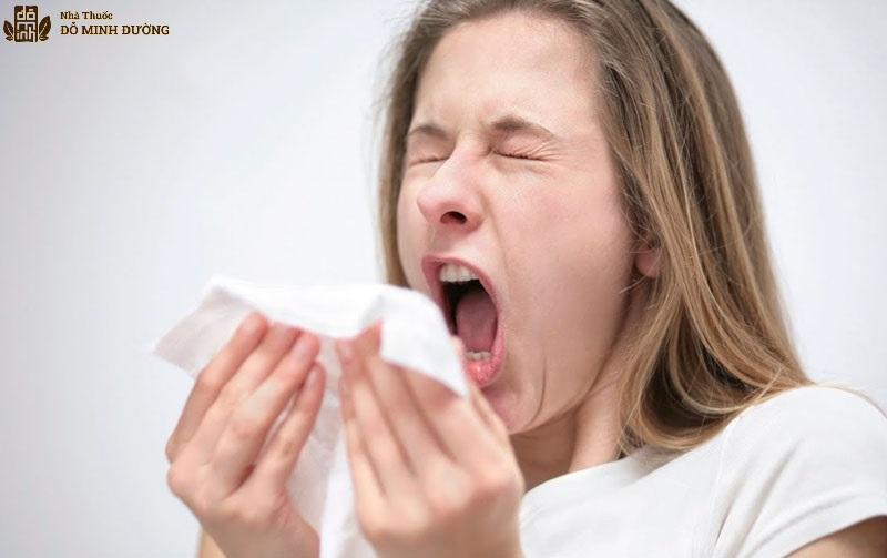 Hắt xì liên tục do viêm xoang dị ứng