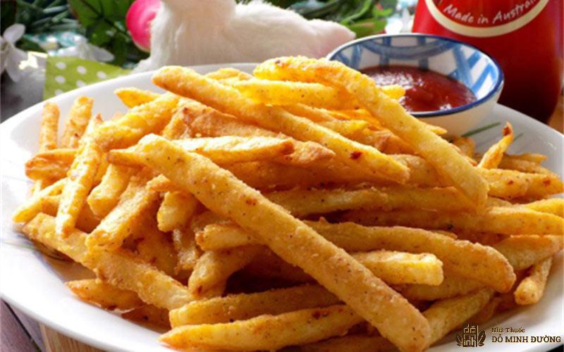 Khoai tây lắc là một thực phẩm chứa nhiều muối