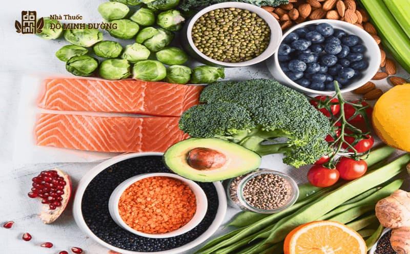 Nên ăn nhiều thực phẩm lành mạnh khi bị viêm amidan cấp