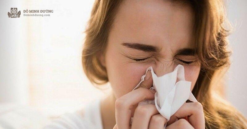 Nghẹt mũi là tình trạng chung của bệnh nhân viêm mũi dị ứng