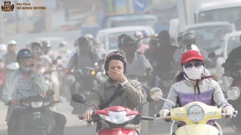Ô nhiễm không khí làm tăng khả năng bị viêm họng hạt