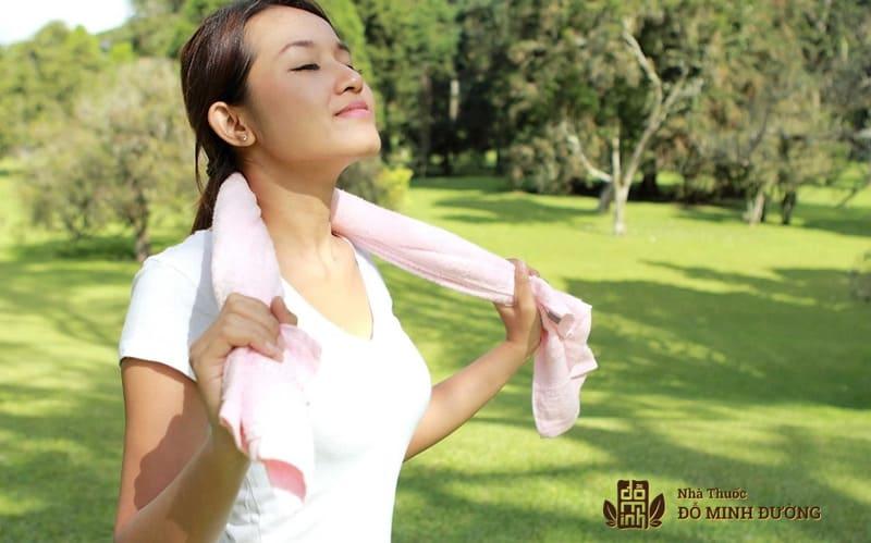 Rèn luyện thân thể giúp chữa viêm xoang