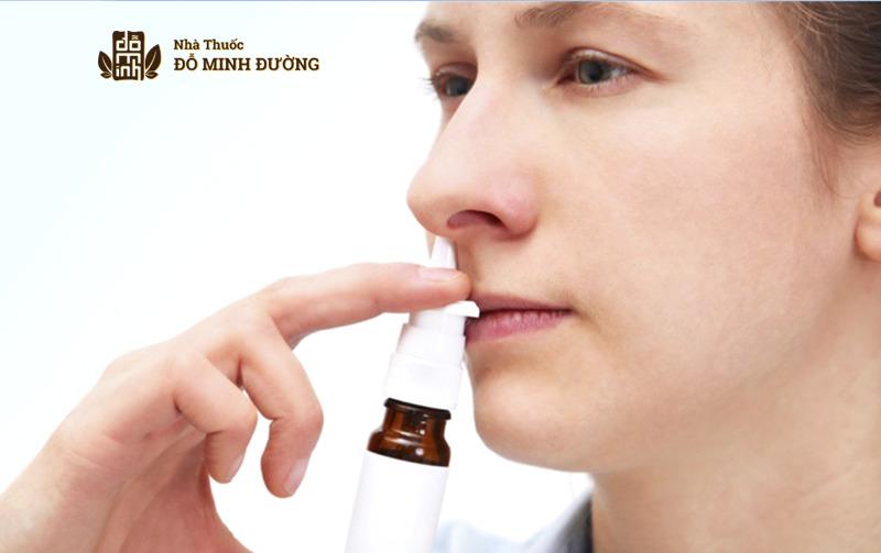 Thuốc xịt mũi chữa viêm xoang