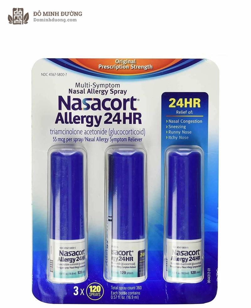 Thuốc xịt mũi corticoid giúp giảm viêm xoang nhanh chóng