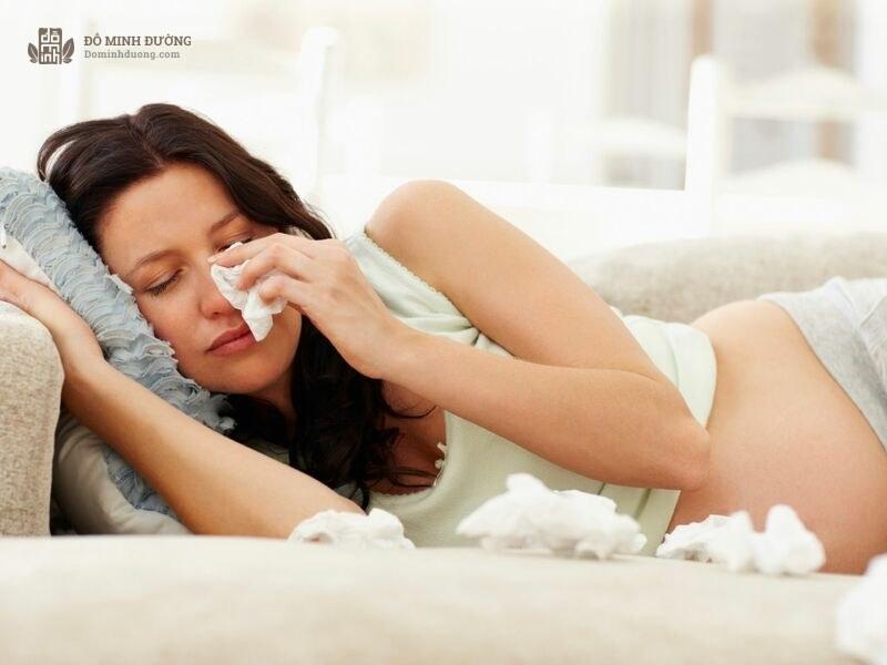 Viêm xoang khiến mẹ bầu khó thở, ảnh hưởng đến sức khỏe