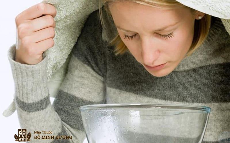 Xông hơi giúp chữa viêm xoang