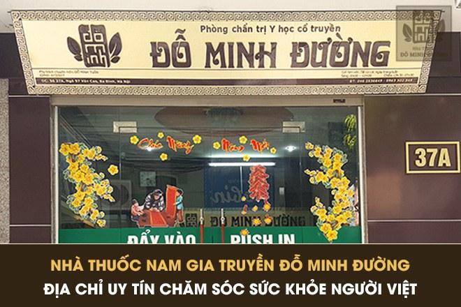 Nhà thuốc Đỗ Minh Đường, địa chỉ uy tín dành cho bệnh nhân xương khớp