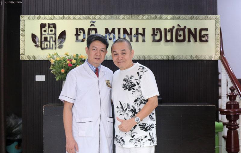 Nghệ sĩ Xuân Hinh chữa thành công bệnh thoái hóa đốt sống tại nhà thuốc Đỗ Minh Đường