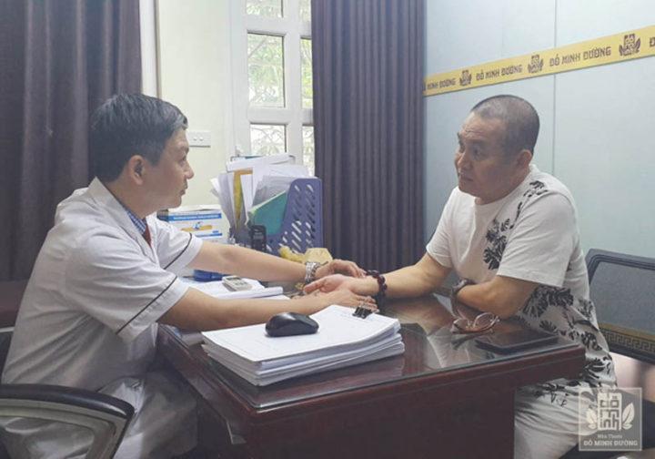 Nghệ sĩ hài Xuân Hinh đã chữa khỏi bệnh xương khớp tại nhà thuốc Đỗ Minh Đường