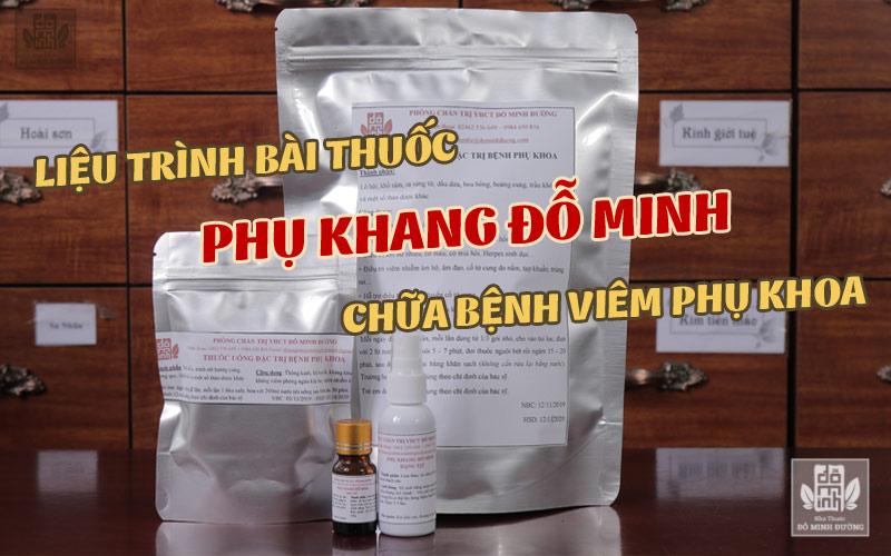 Bài thuốc chữa bệnh phụ khoa gia truyền của dòng họ Đỗ Minh