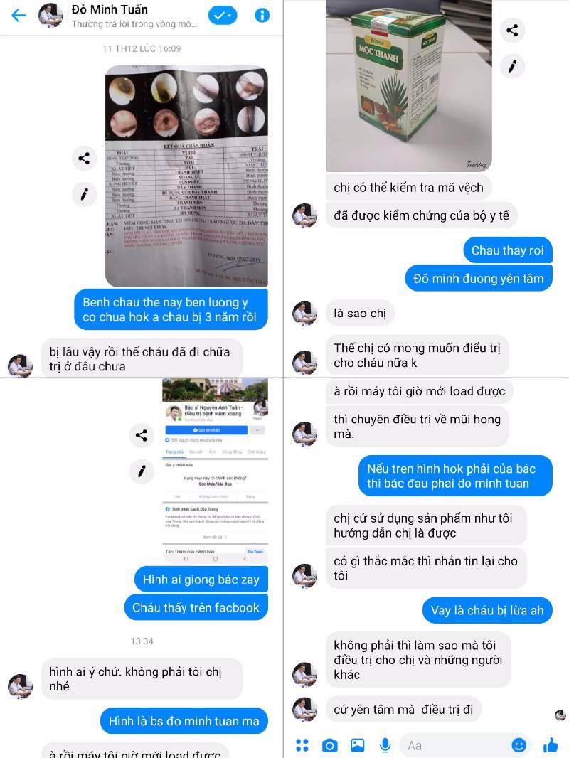 Đối tượng giả danh lương y Đỗ Minh Tuấn để lừa đảo bán thuốc