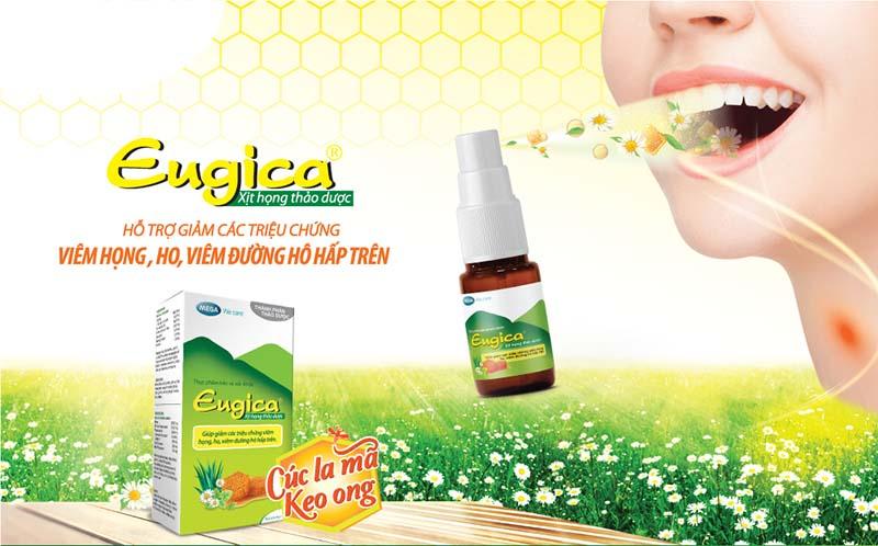 Thuốc xịt họng Eugica