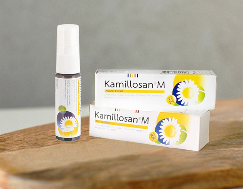 Thuốc xịt họng Kamillosan