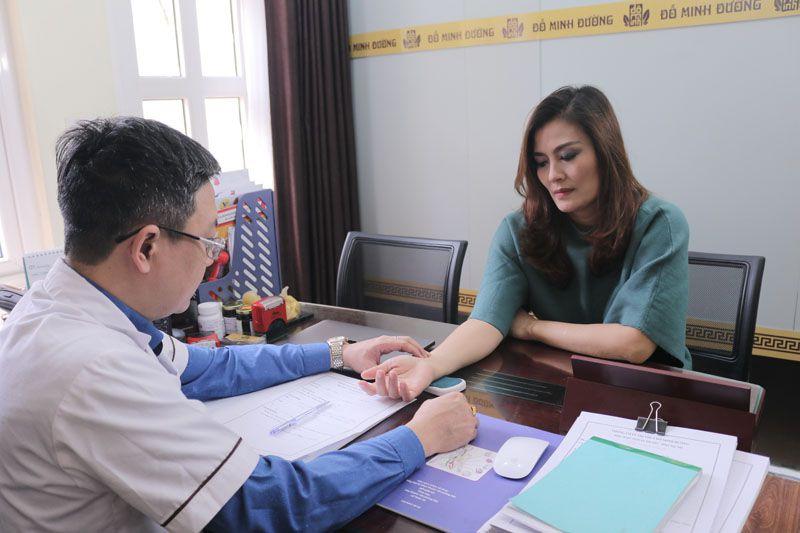 Diễn viên Hoa Thúy tin tưởng, khám chữa tại Đỗ Minh Đường và đã khỏi bệnh viêm xoang
