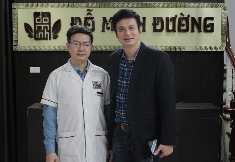 Diễn viên Lê Bá Anh điều trị bệnh yếu sinh lý nam tại Đỗ Minh Đường