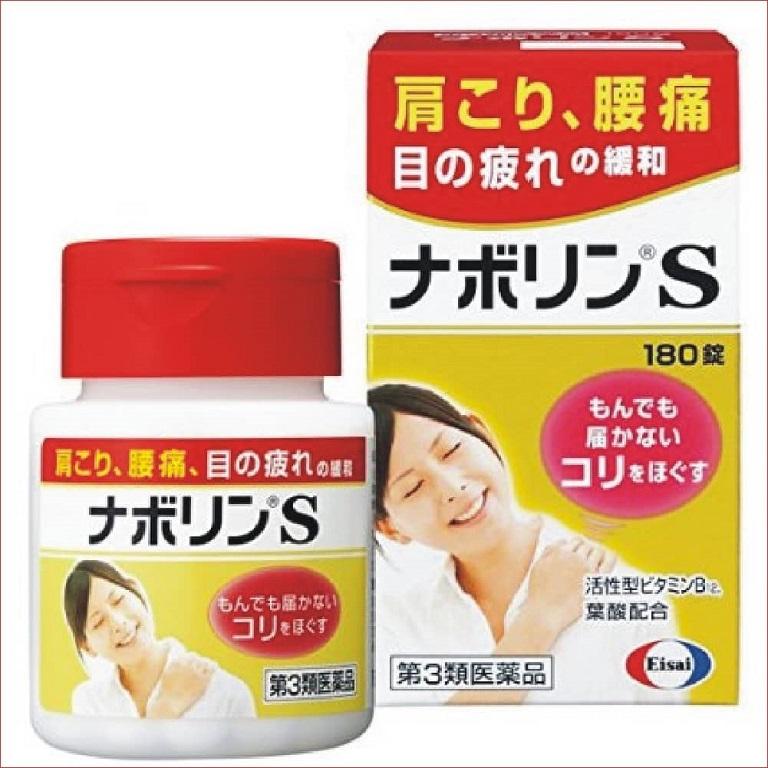 Sản phẩm chữa đau vai gáy Nhật Bản Eisai