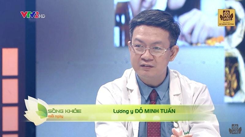 Lương y Đỗ Minh Tuấn - Doctor sống khỏe trên VTV2 chữa viêm xoang