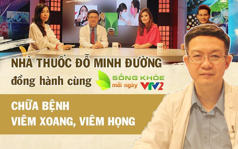 Lương y Đỗ Minh Tuấn tư vấn bệnh viêm xoang trên truyền hình VTV2