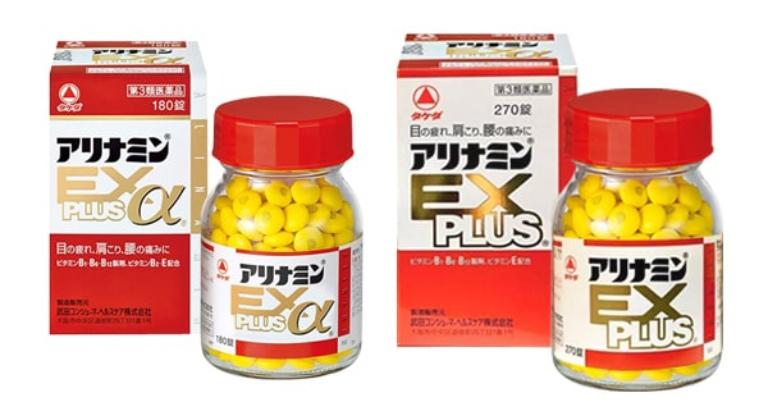 Thực phẩm chức năng Arinamin EX Plus được dùng nhiều để trị đau vai gáy