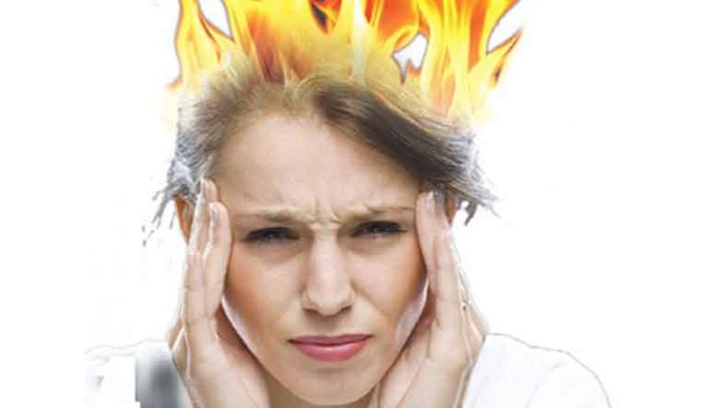 Bất kì phụ nữ nào bước vào giai đoạn này cũng đều trải qua hiện tượng bốc hỏa