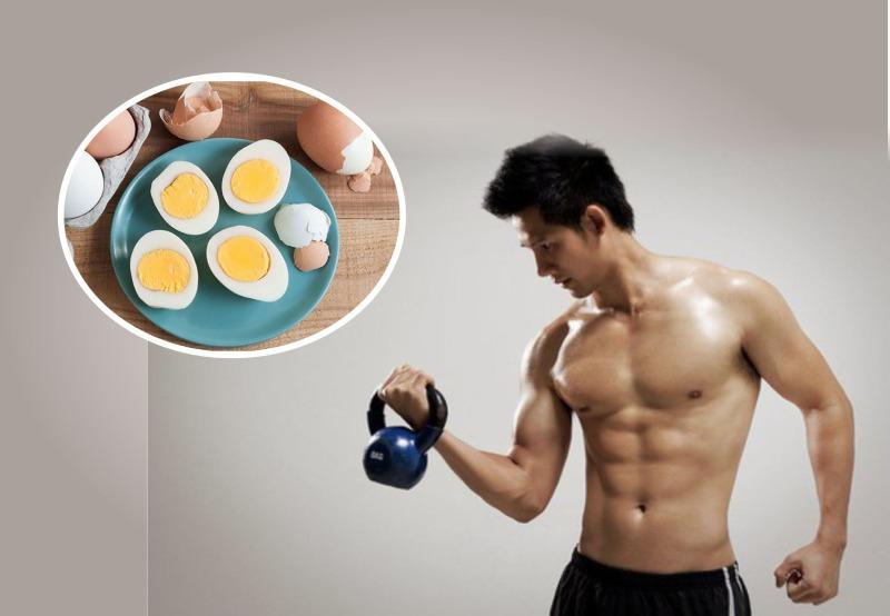 Trứng gà không những tốt cho tinh trùng mà còn cải thiện sức khỏe, tăng cường cơ bắp