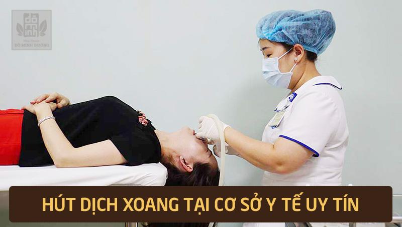 Cách hút dịch tại cơ sở y tế