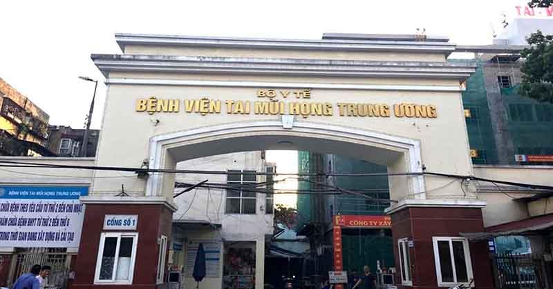 Đây là bệnh viện chuyên khoa Tai Mũi Họng lớn nhất miền Bắc