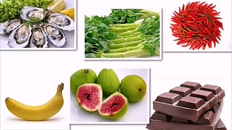 Top các loại thực phẩm nâng cao chức năng sinh lý nữ
