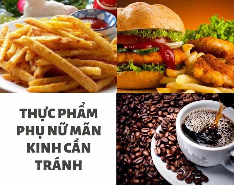 Các loại thực phẩm này có thể khiến các triệu chứng của quá trình mãn kinh trở nên tồi tệ hơn