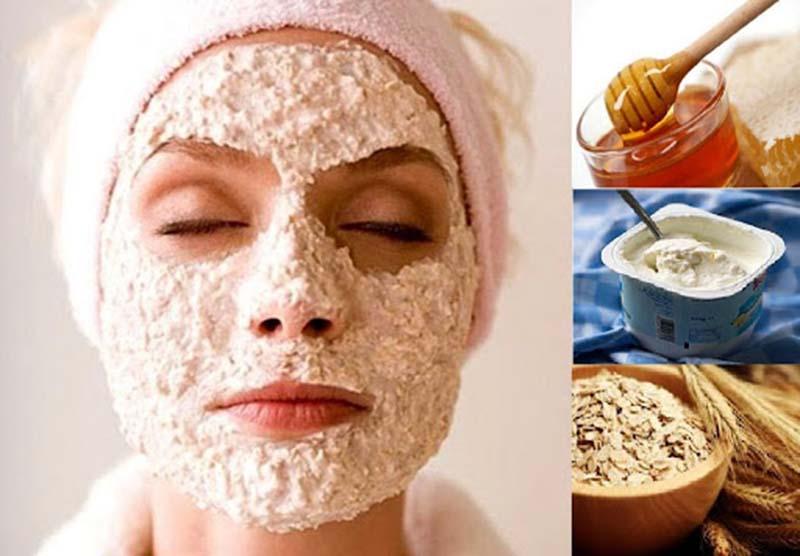 Trị dị ứng da mặt bằng sữa chua và bột yến mạch sẽ làm tăng hiệu quả trị dị ứng.