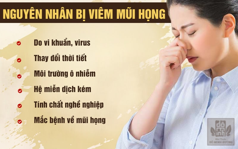 Những nguyên nhân dễ gây viêm nhiễm đường hô hấp